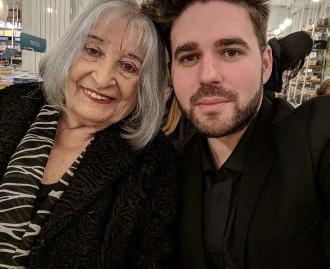 Nora Iuga cu Albert Denn