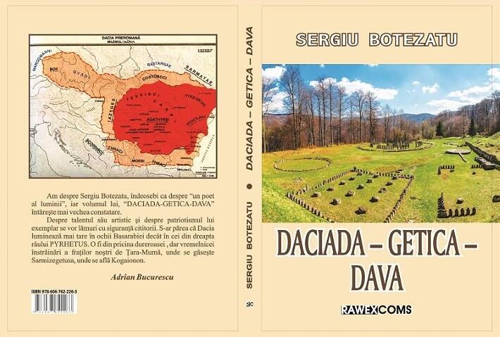 Coperta DACIADA-GETICA-DAVA, Sergiu Botezatu, 2020